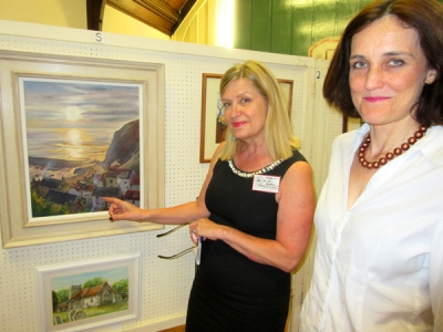 Harbour scenes capture attention at artists' exhibition