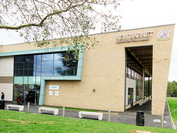 New Barnet Leisure Centre and Library at the Victoria Recreation Ground