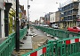 Work is underway to widen the High Street pavement between the junctions with Union Street and Salisbury Road