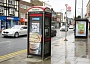 Approval has already been obtained to replace the phone box in front of KFC in Barnet High Street with a new phone kiosk featuring an illuminated display screen for advertisements