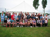 Members of the 1st Barnet Boys' Brigade and Girls' Association 2014 at their 2014 annual camp at Chichester