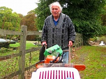 Peter Mason is 78 but has no intention of retiring from his farm in Wood Street